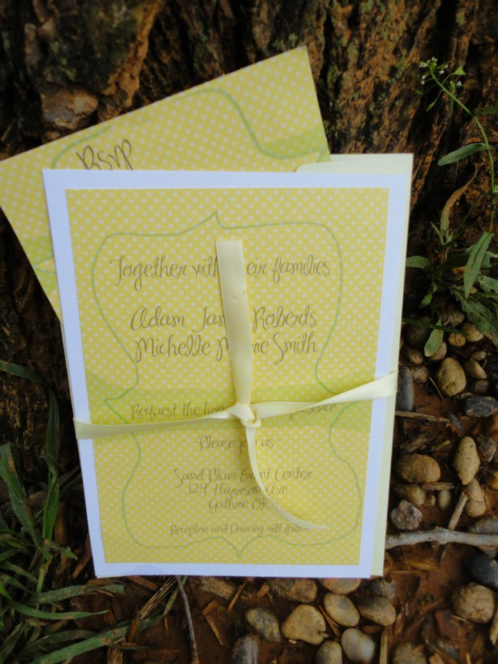One Wed Stationery Feature