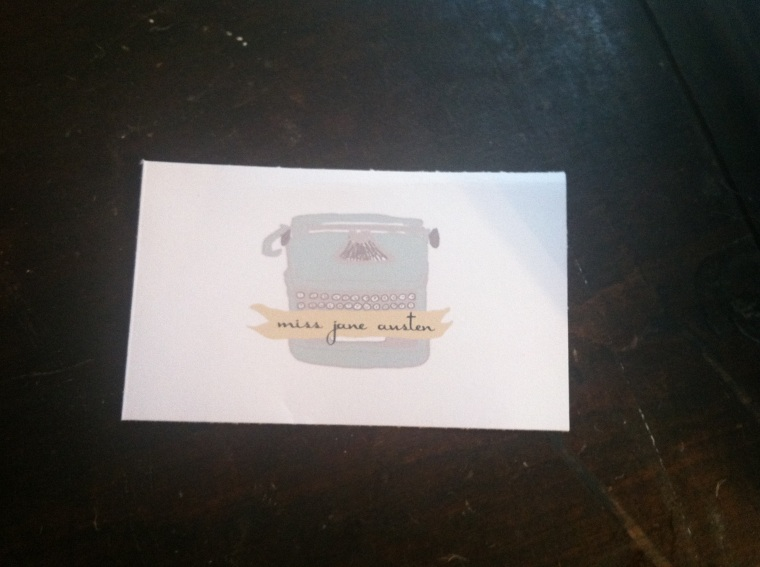 Typewriter Vintage Wedding Thank you Cards with place cards