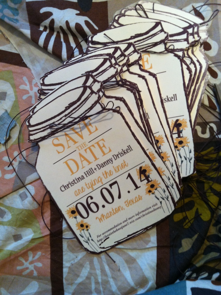 Monday Morning + Save the Dates with Sunflowers