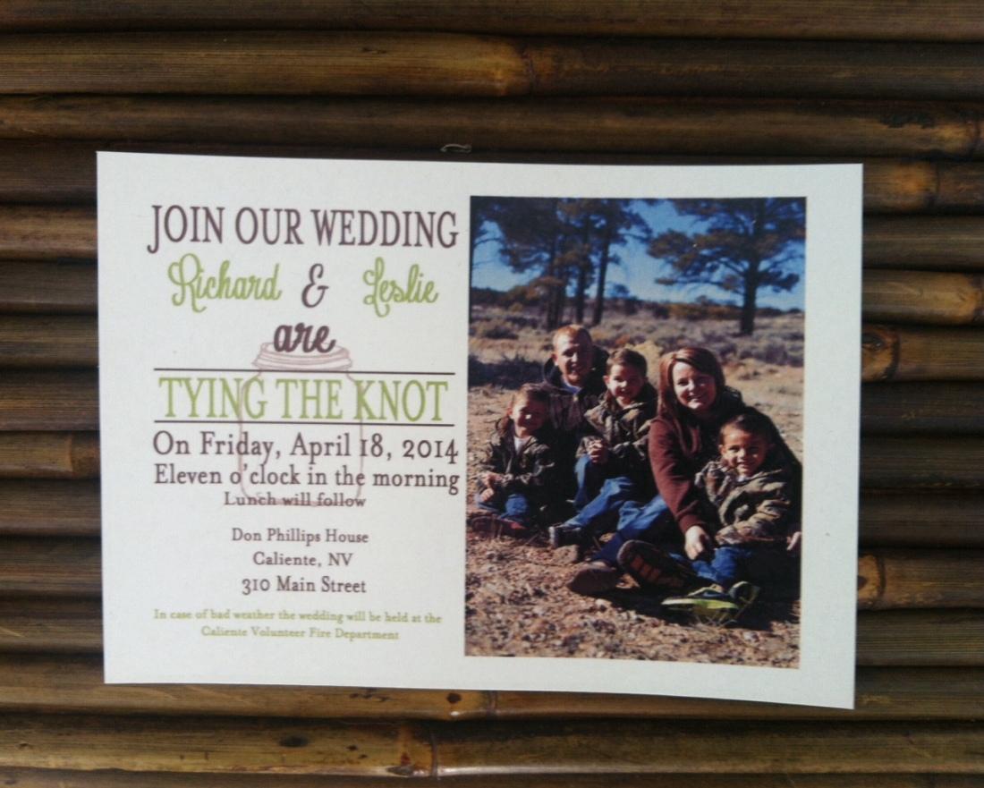 Wedding invitation Postcards - Simple and Fast