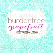 Victoria Moisturizing grapefruit lotion