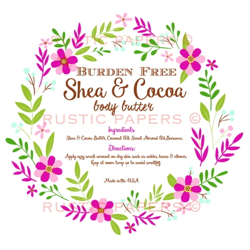 Victoria Shea Body Butter label