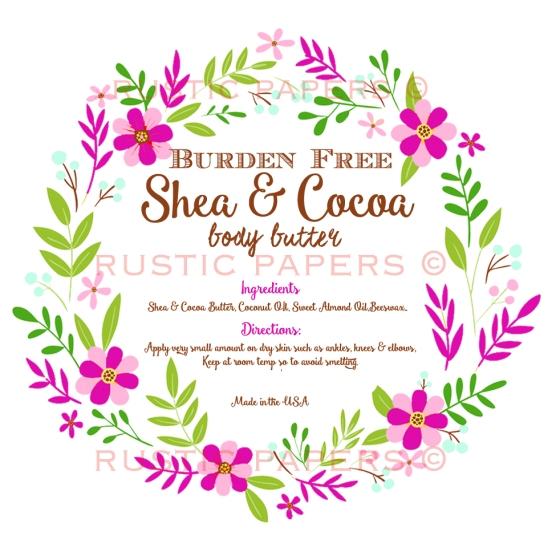 Victoria Shea Body Butter label
