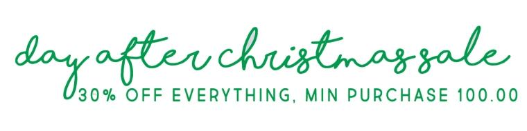 Christmas Etsy Sale